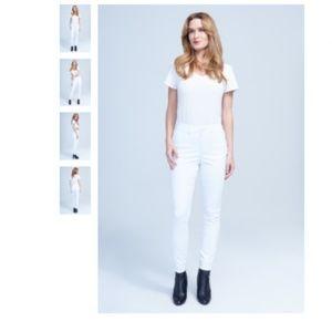 Seven7 High Rise Skinny Jeans Blanc de Blanc White